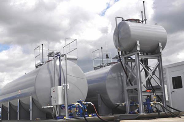 Dieseltanks zur Versorgung von Stromerzeugern