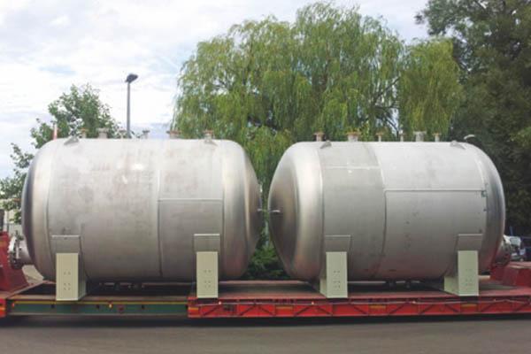 Prozesswasserablassbehälter