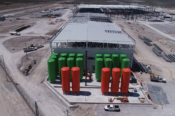 Tanks für Polyole und Isocyanate