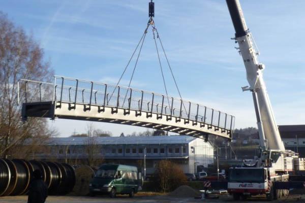 Brücke für einen Kunden aus Deutschland