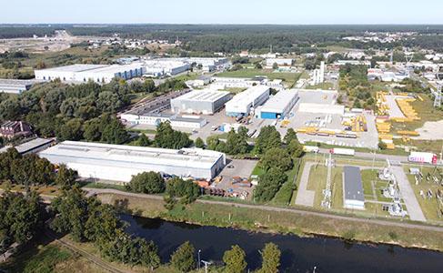 CGH Polska Firmensitz