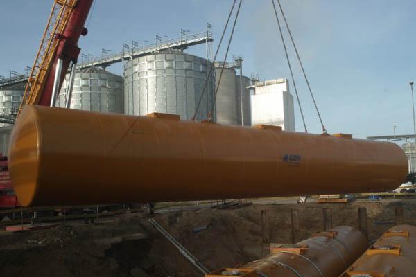 Ethanol-Lagertanks