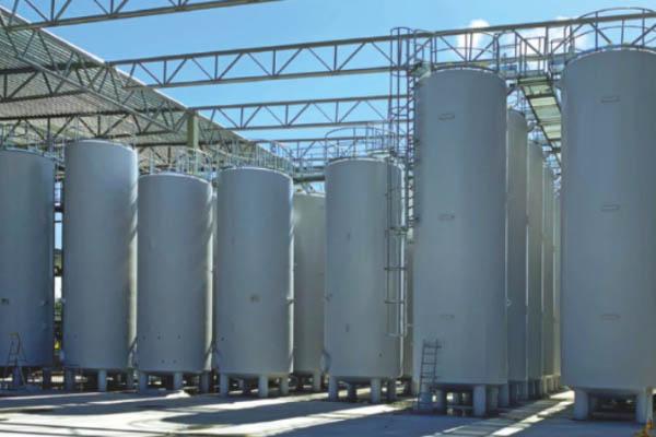 Tanks für den Hersteller von Schmierölen