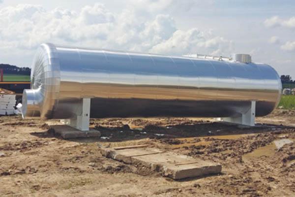 Wassertank im Öl- und Gasfeld